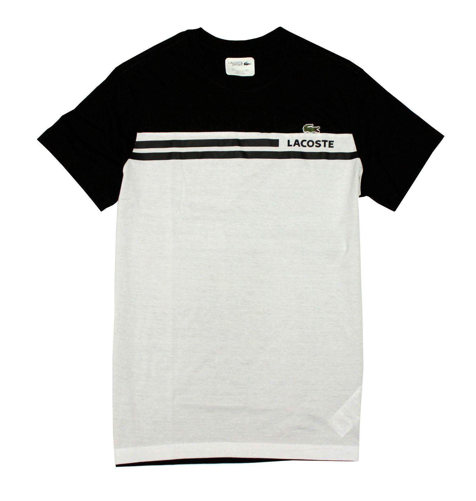 Camiseta L-07 Preto / Branco