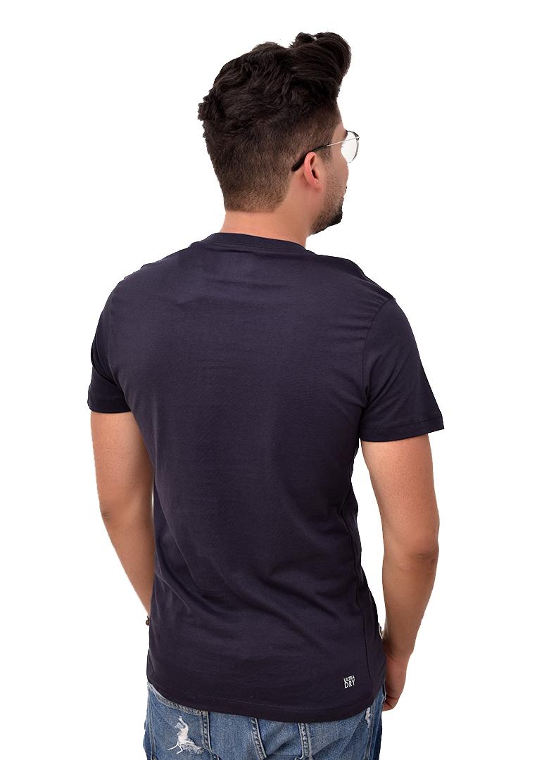 Camiseta LCT Marinho ( Slim Fit )  - Ca Brasileira