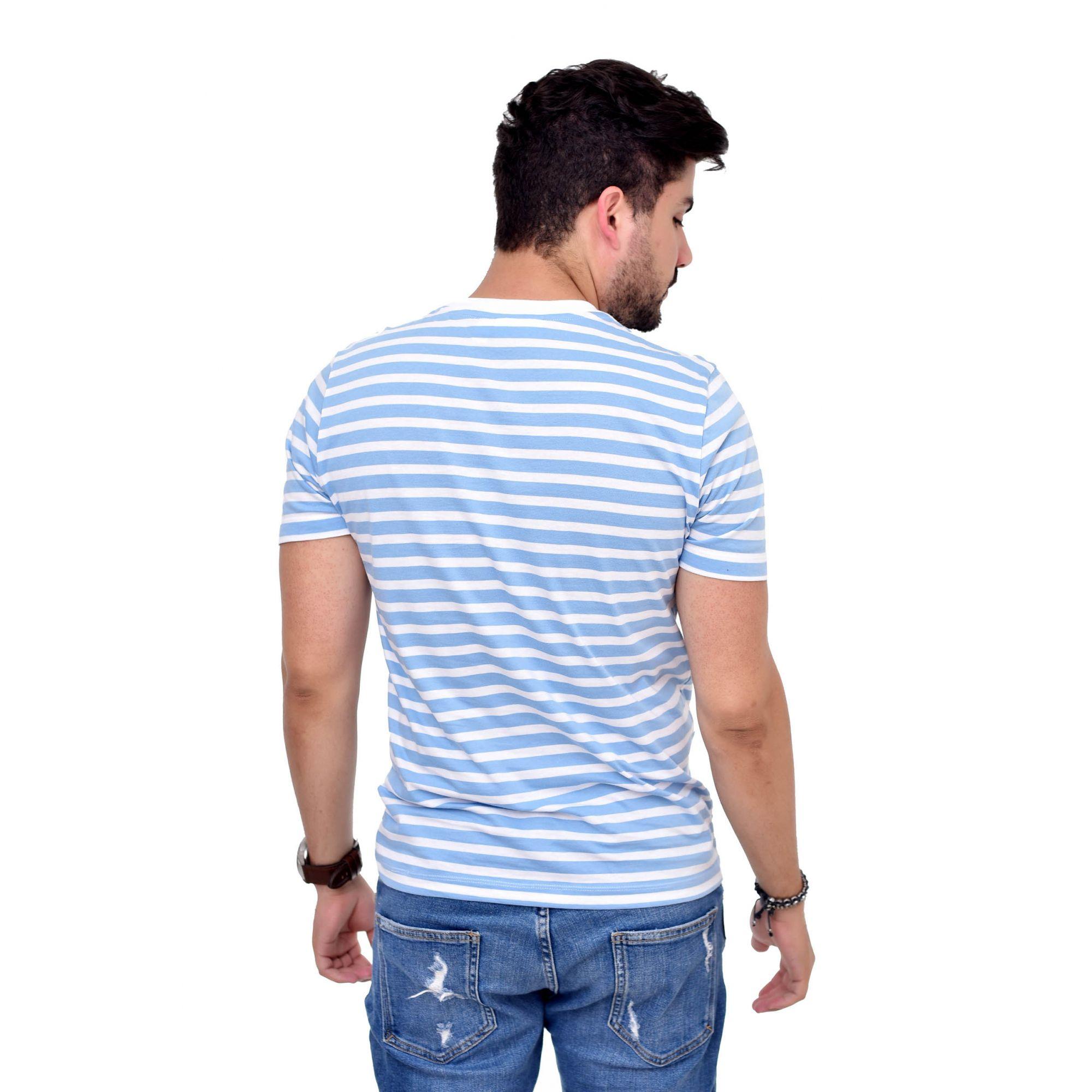 Camiseta Listrada L-21  - Ca Brasileira