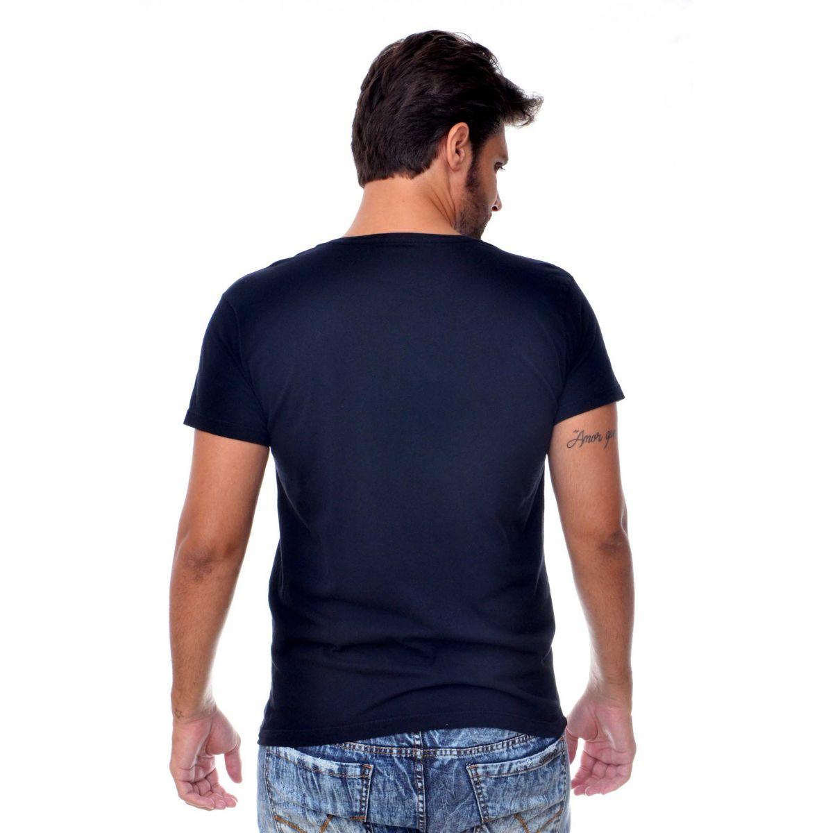 Camiseta Osklen Rj Sp Preta  - Ca Brasileira