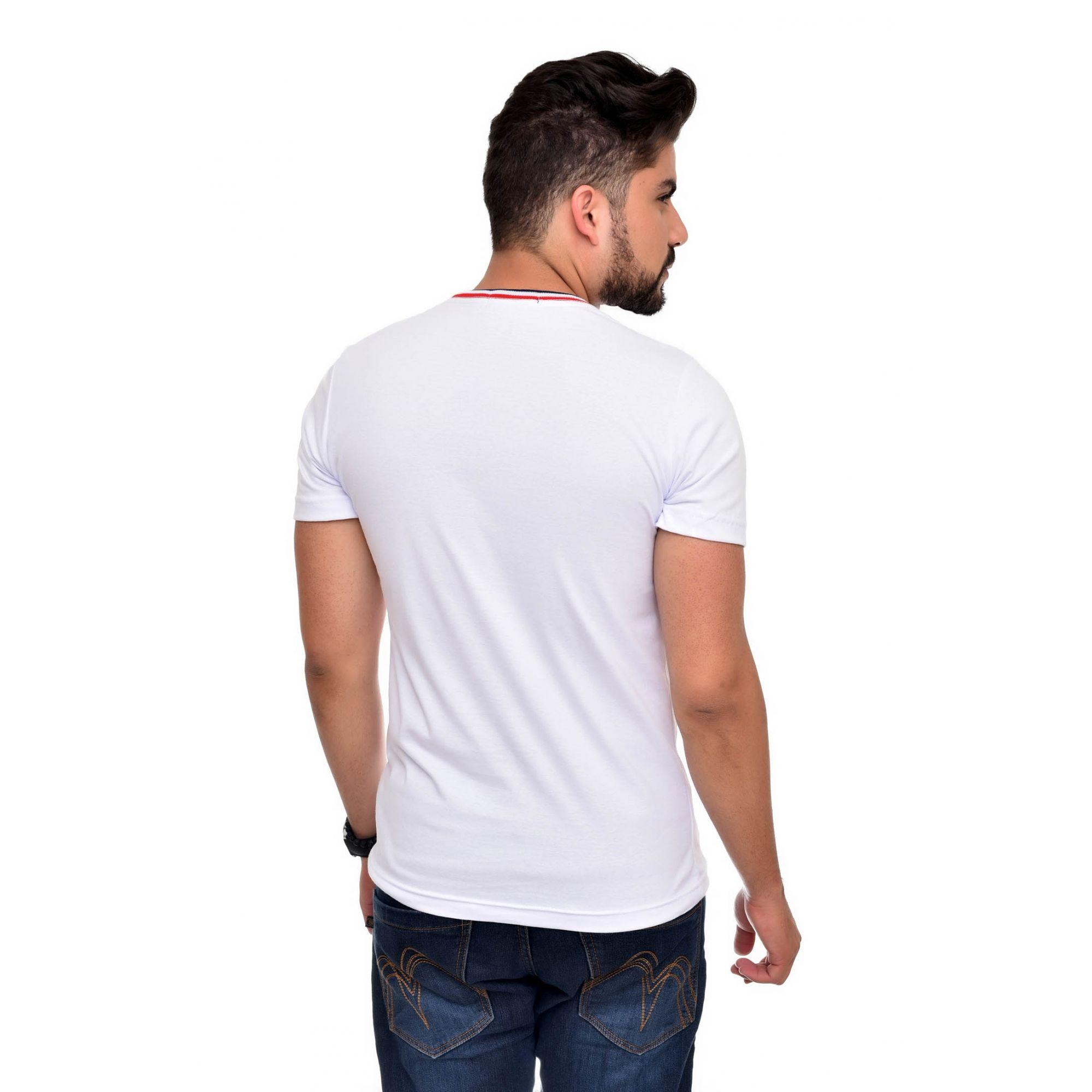 Camiseta RL Branca TR  - Ca Brasileira