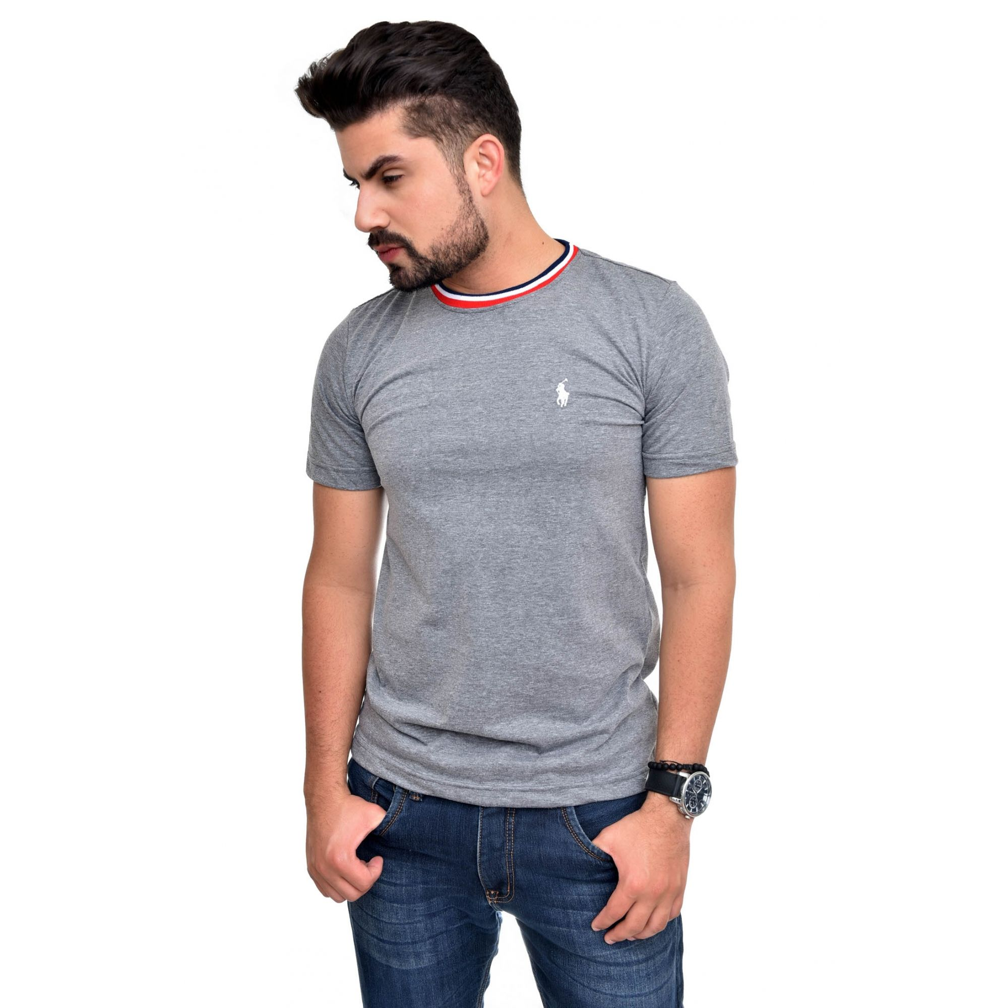 Camiseta RL Mescla Escuro TR