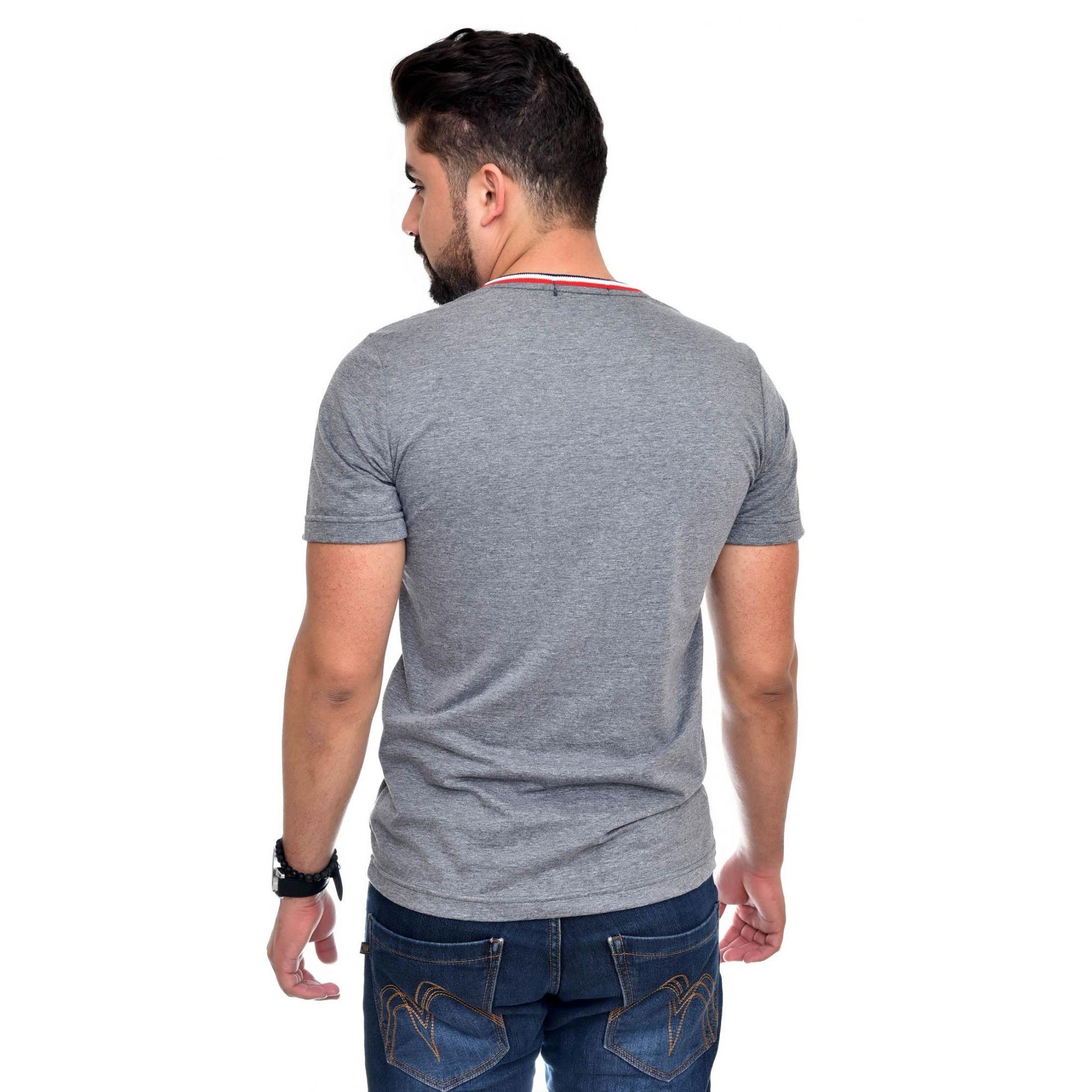 Camiseta RL Mescla Escuro TR  - Ca Brasileira