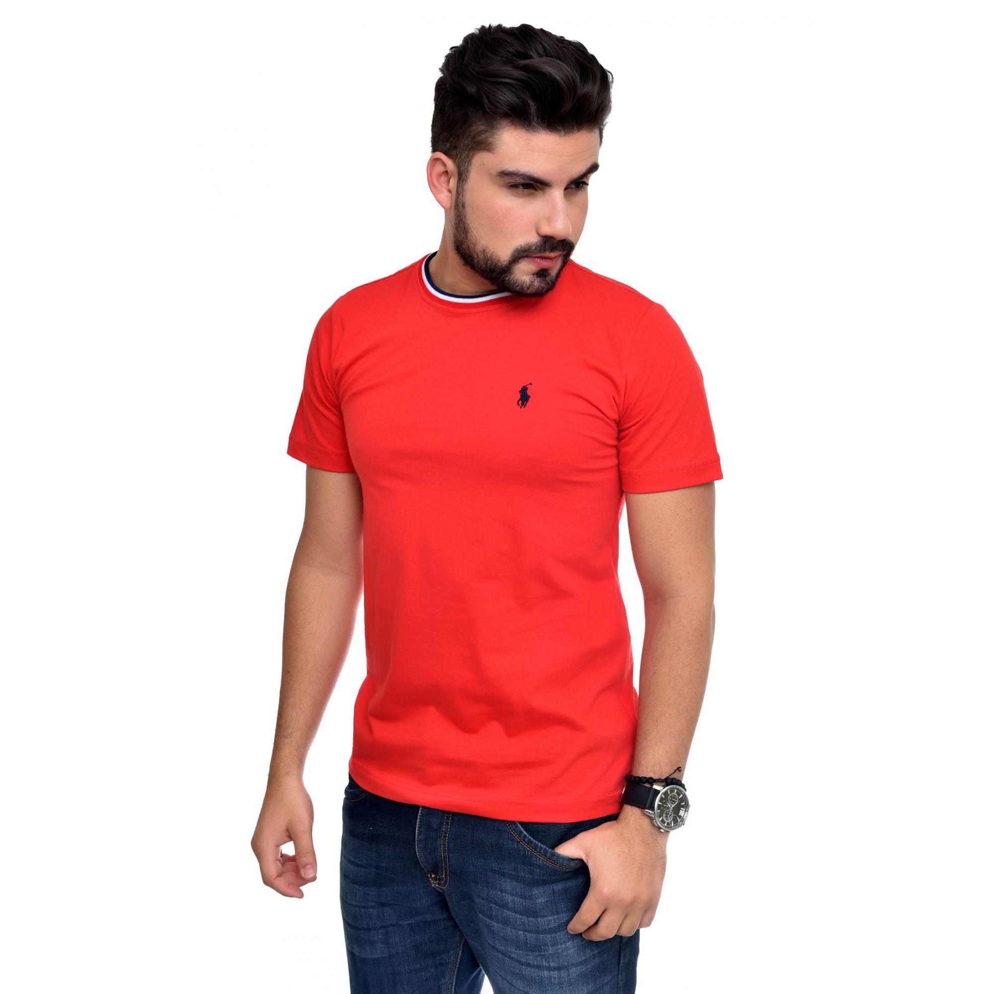 Camiseta RL Vermelha TR