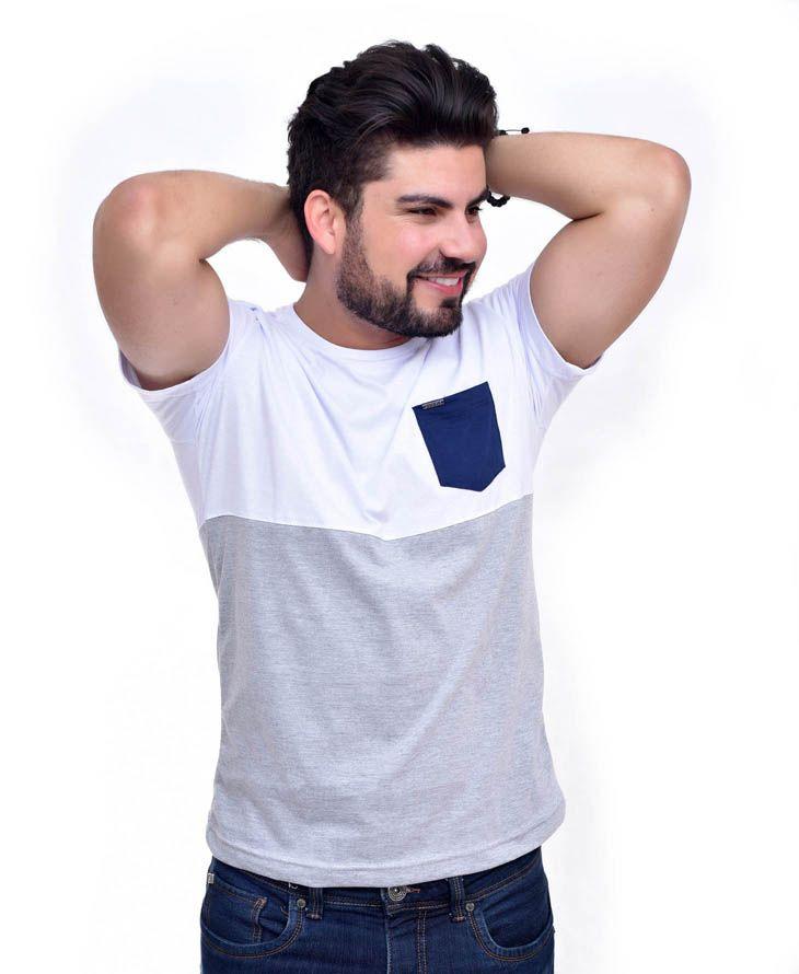 Camiseta Sk Bolso BR/MC