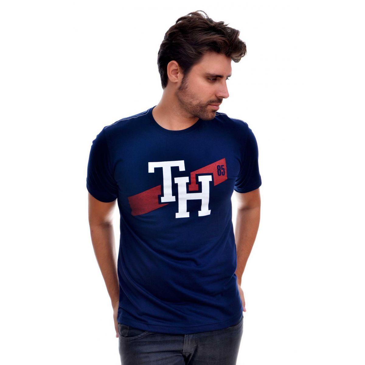 Camiseta TH '85 Azul Marinho