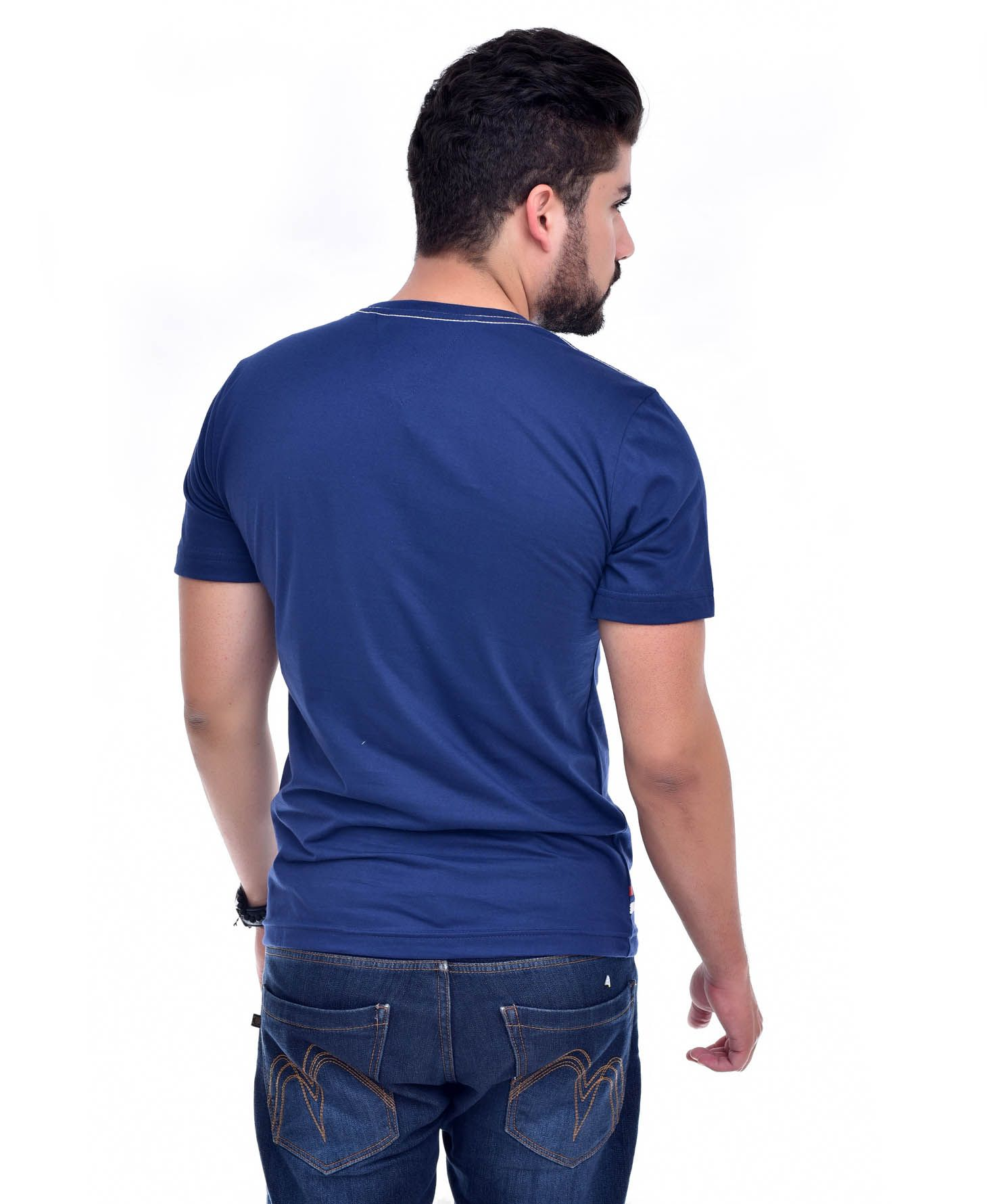 Camiseta TH Big T Marinho  - Ca Brasileira