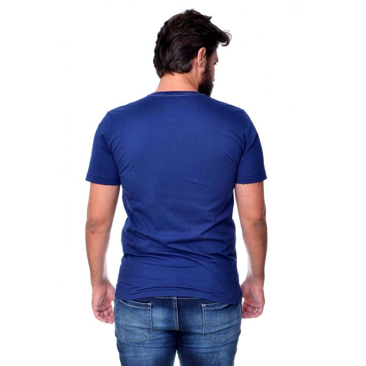 Camiseta TH Box Marinho  - Ca Brasileira
