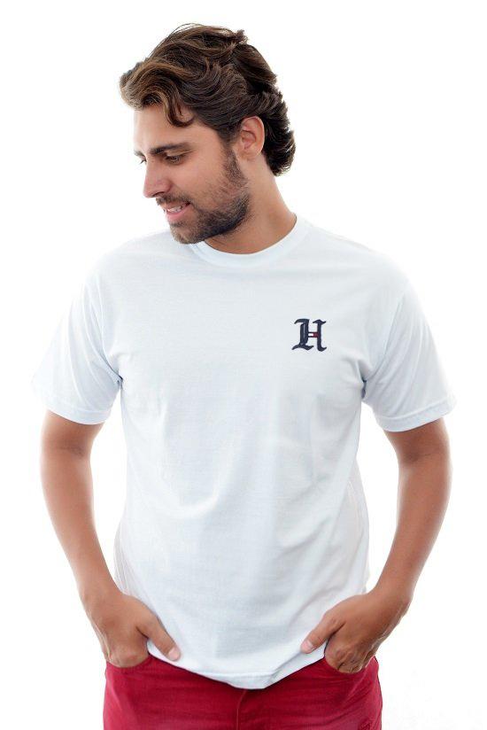 Camiseta TH Branca Logo H  - Ca Brasileira