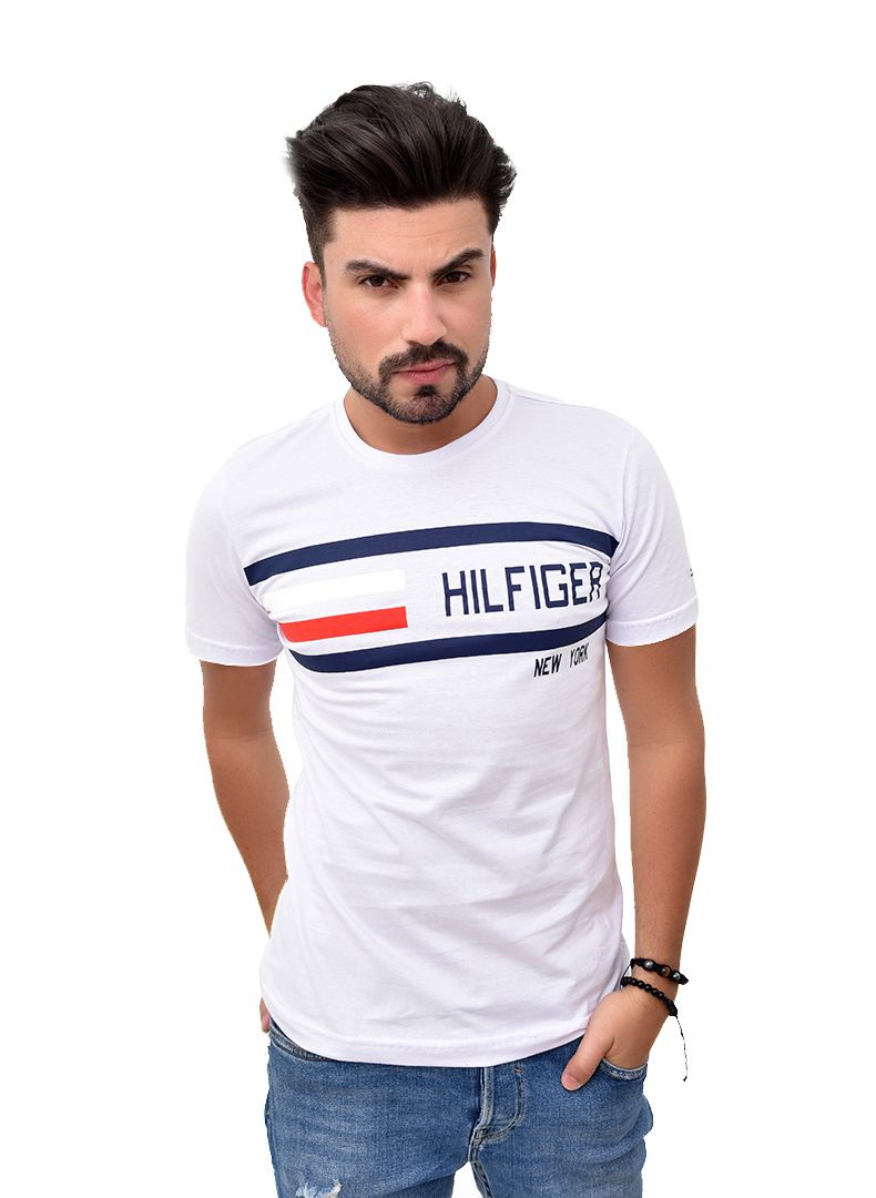Camiseta TH Branca Mix 1