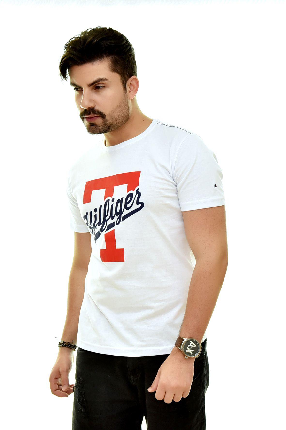 Camiseta TH Branca T2