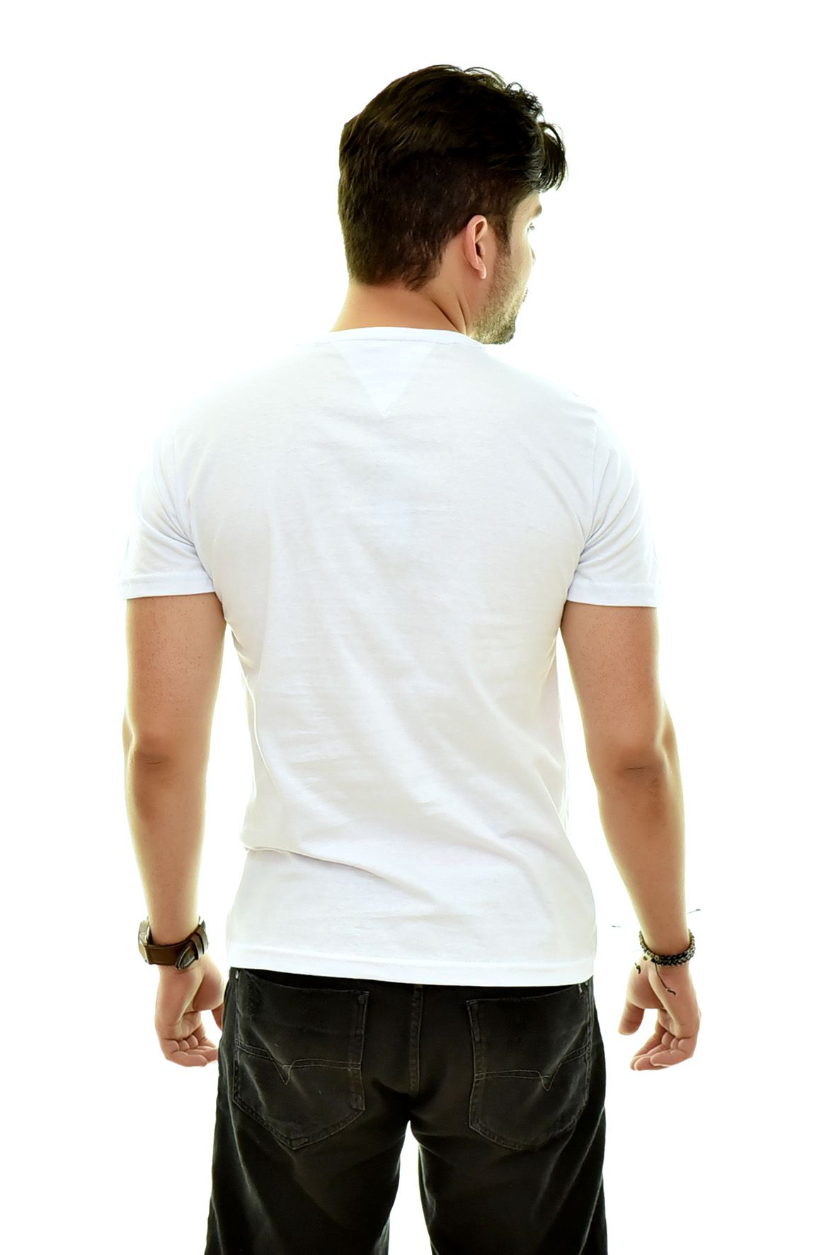 Camiseta TH Branca T2  - Ca Brasileira