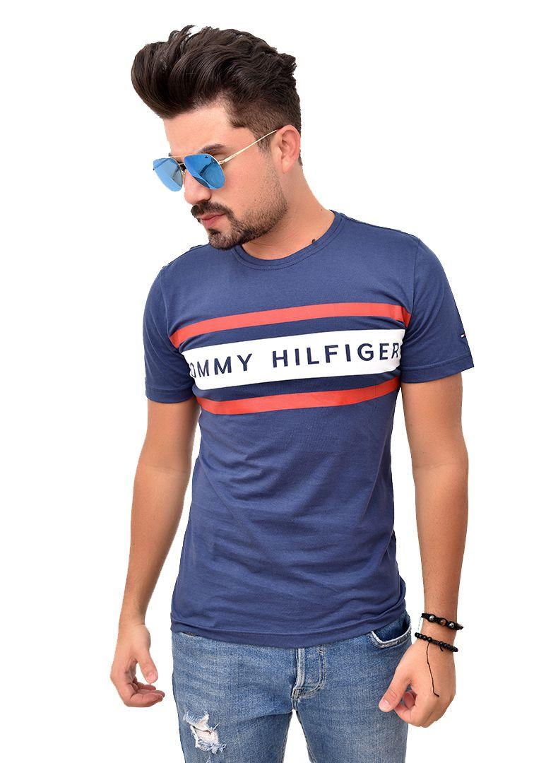 Camiseta TH Lines Marinho  - Ca Brasileira