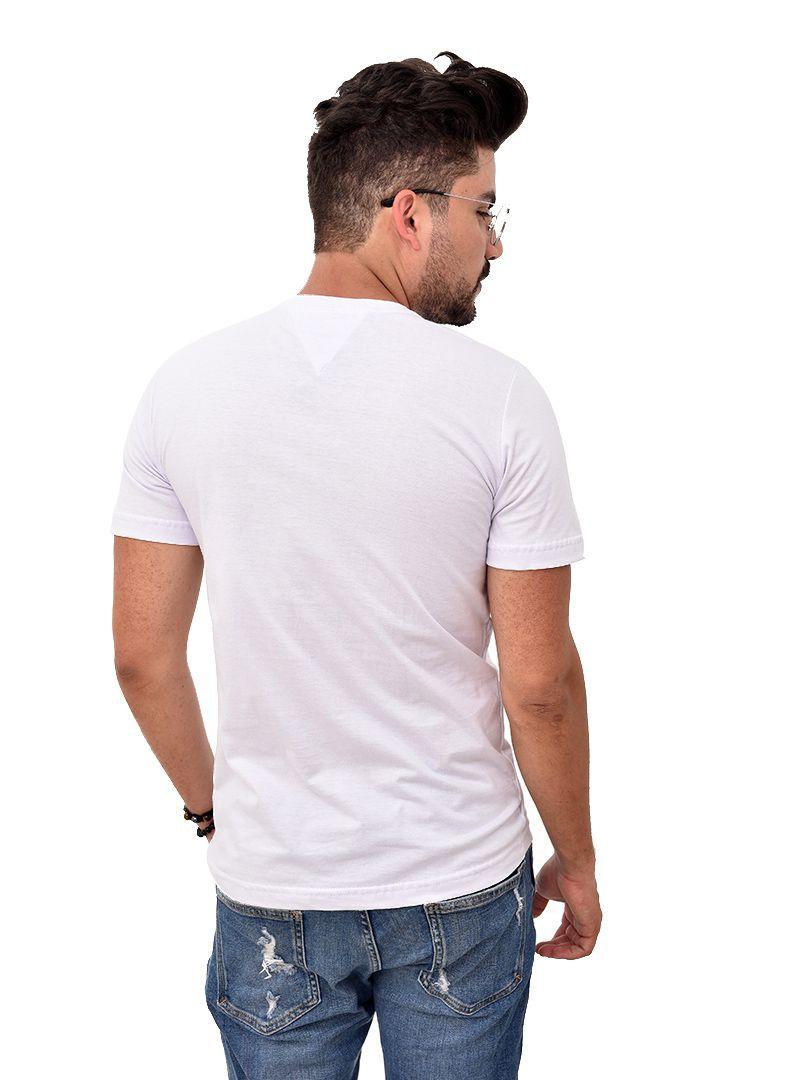 Camiseta TH Lines  White  - Ca Brasileira