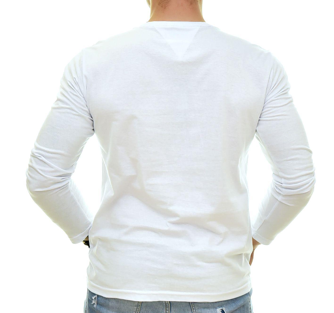 Camiseta TH Manga Longa Branca 06  - Ca Brasileira