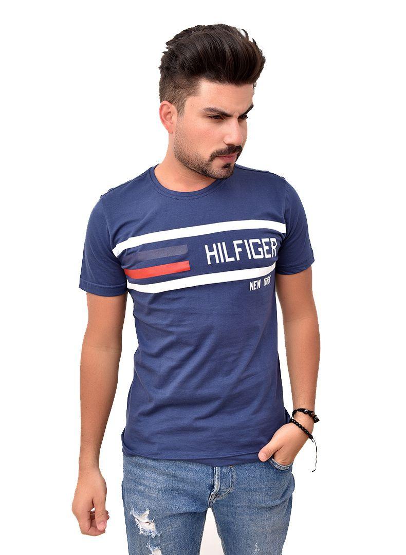 Camiseta TH Marinho 05