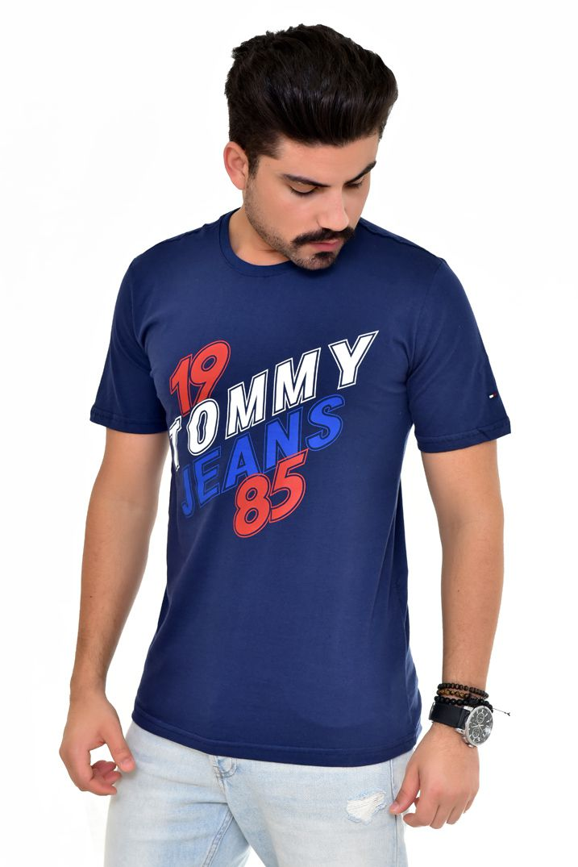 Camiseta TH Marinho 1985