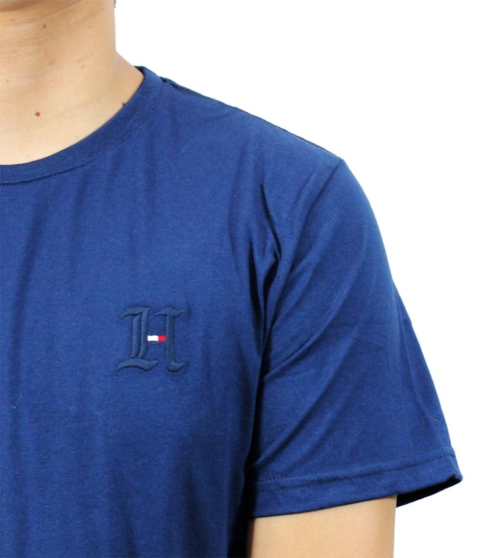 Camiseta TH Marinho Logo H  - Ca Brasileira