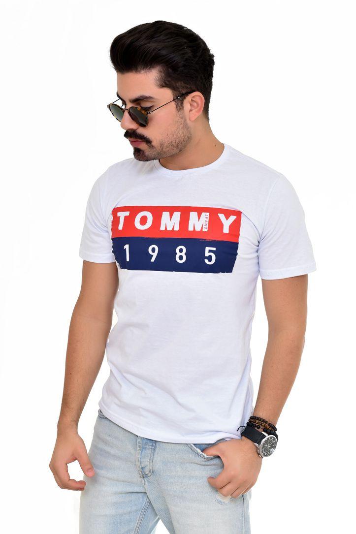Camiseta TH Vint Branca  - Ca Brasileira
