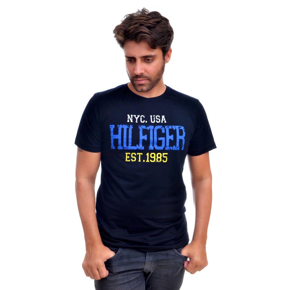 Camiseta TH NYC-1985 Preto