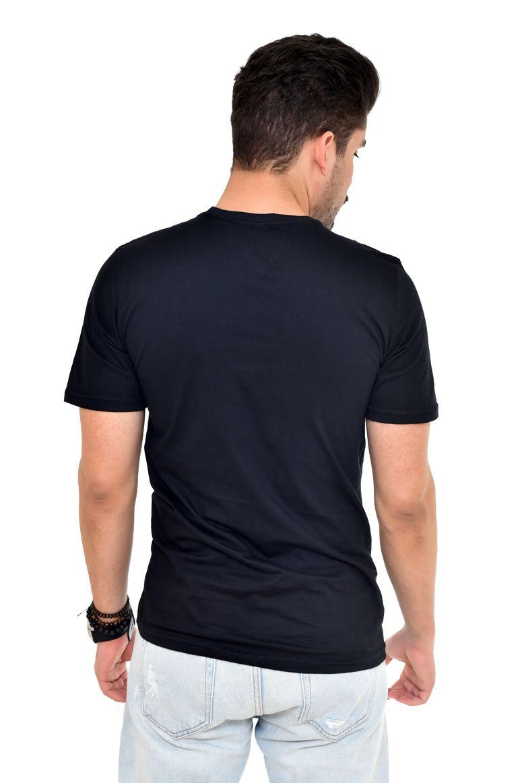 Camiseta TH Preta NY Line  - Ca Brasileira