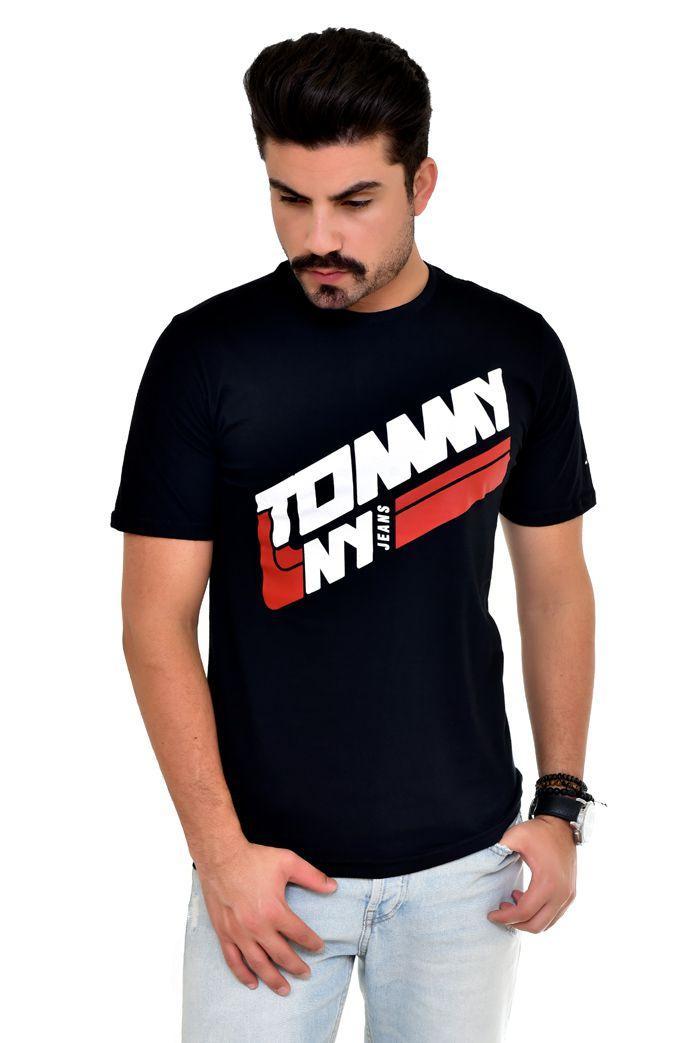 Camiseta TH Preta NY Line