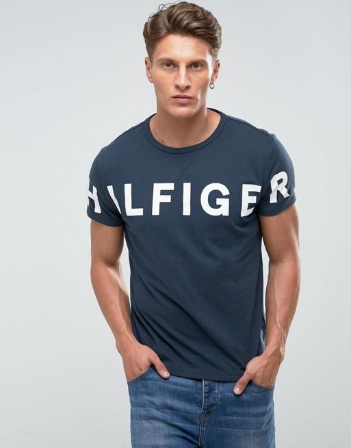 Camiseta TH Print Marinho