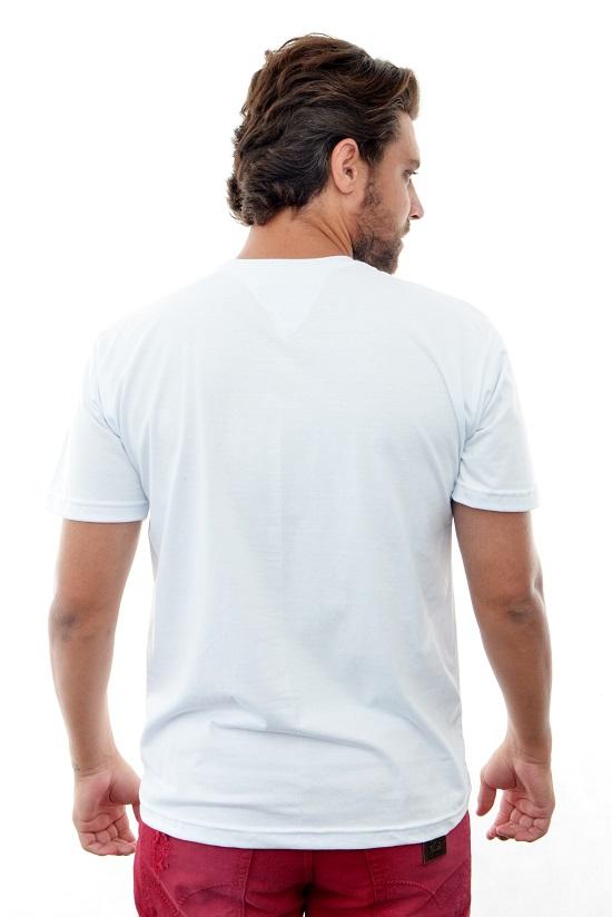 Camiseta TH Básica Branca  - Ca Brasileira