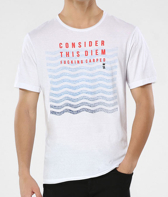 CAMISETA WAVES SERGIO K BRANCA