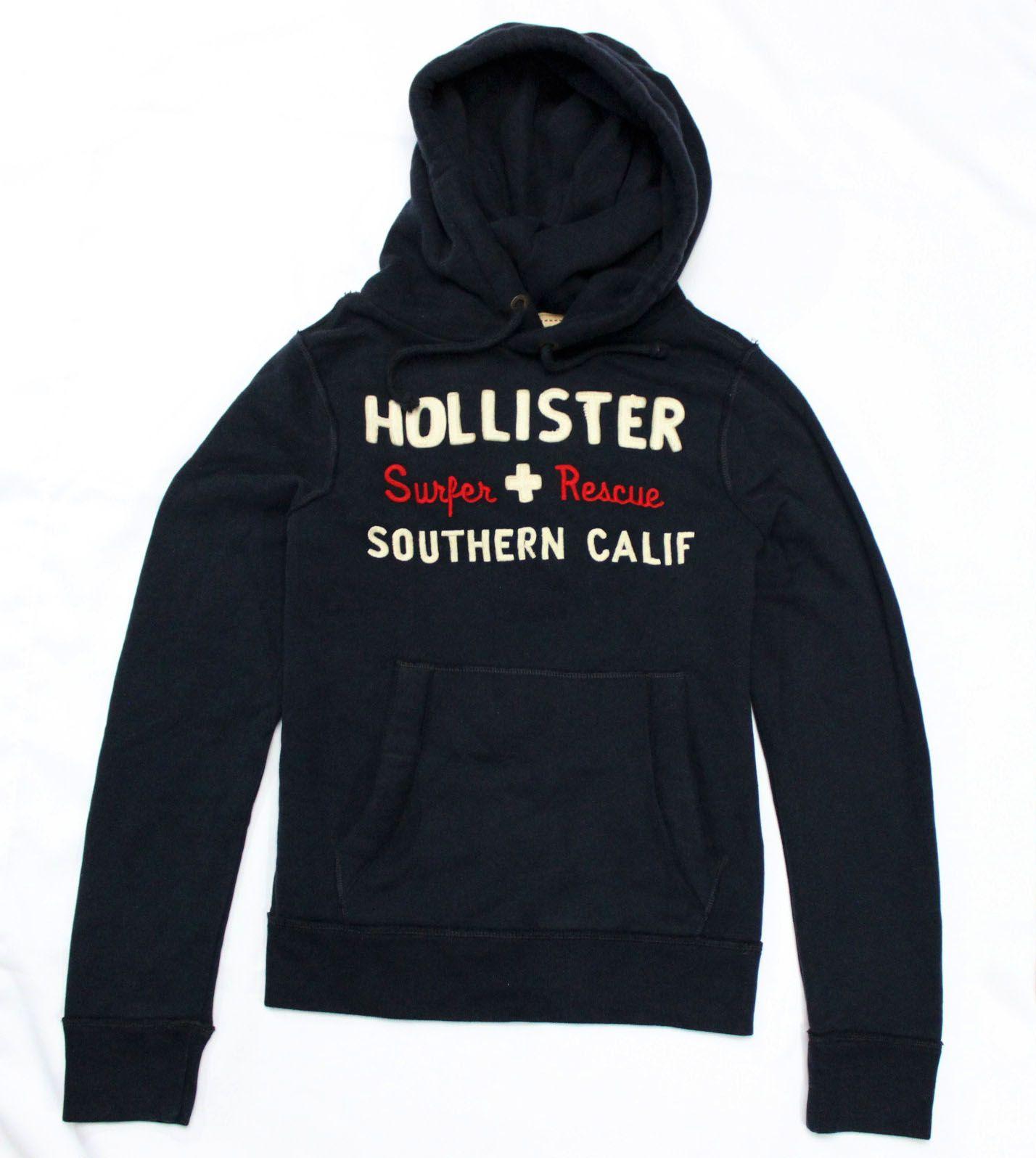 Moletom Hollister  Southern Marinho