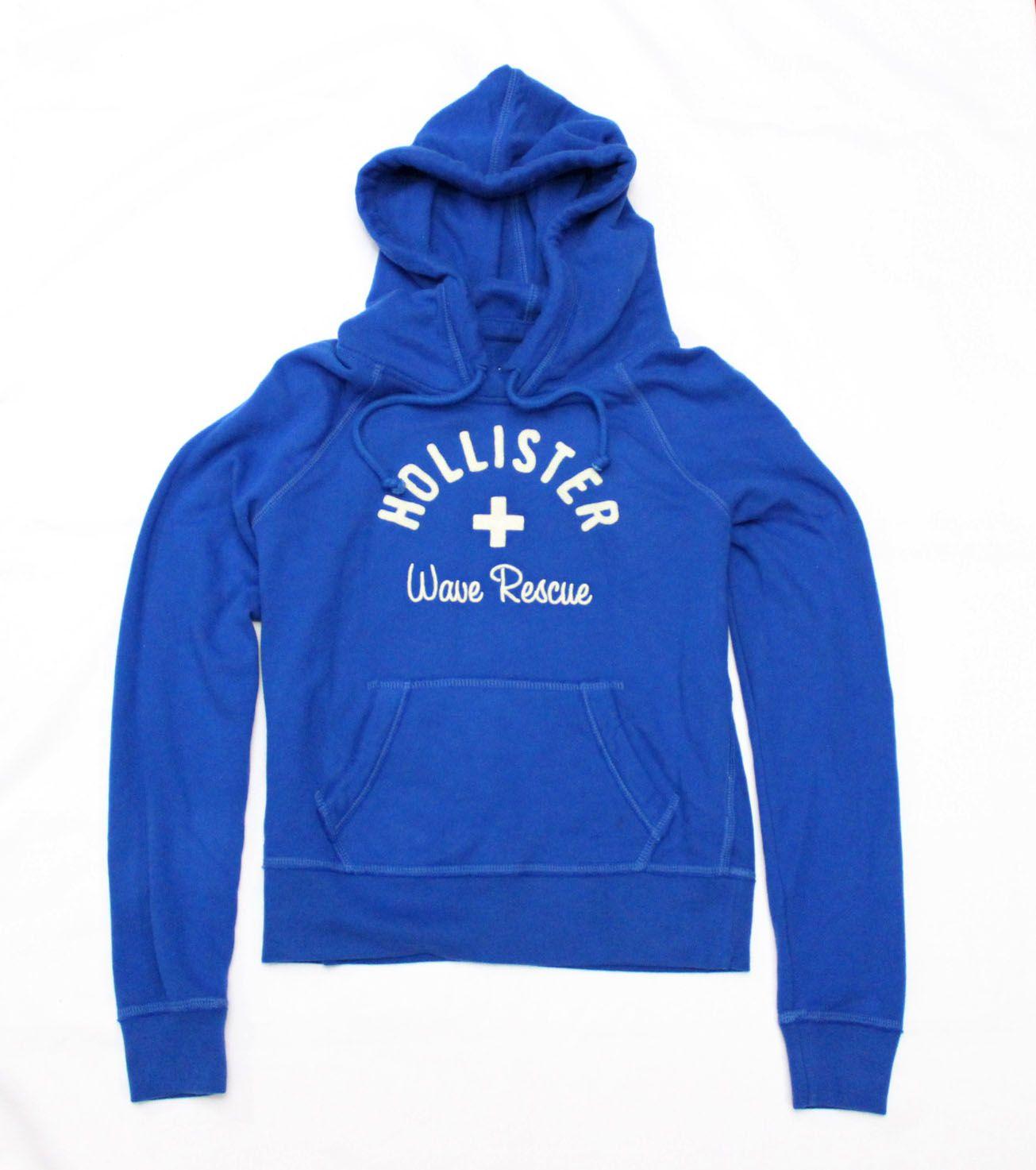 Moletom Hollister Wave Azul Royal
