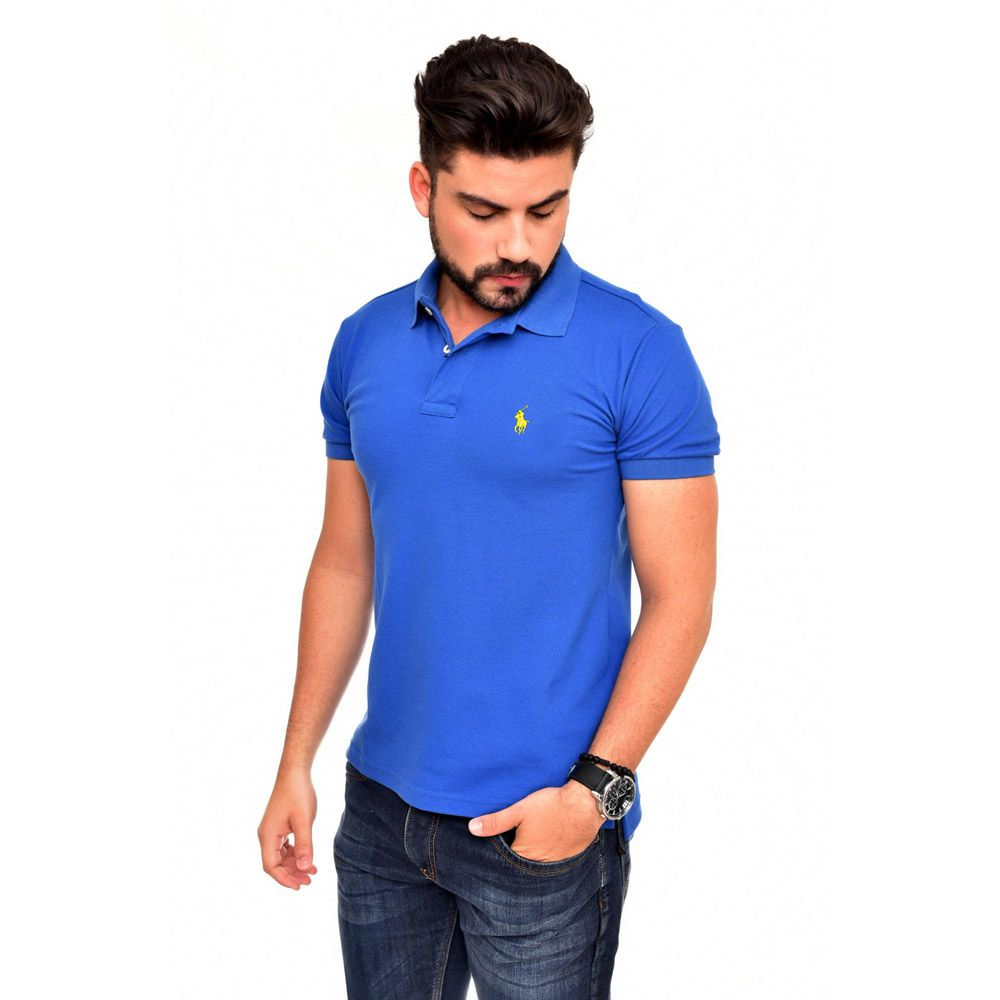 POLO BASIC RL ROYAL - AM