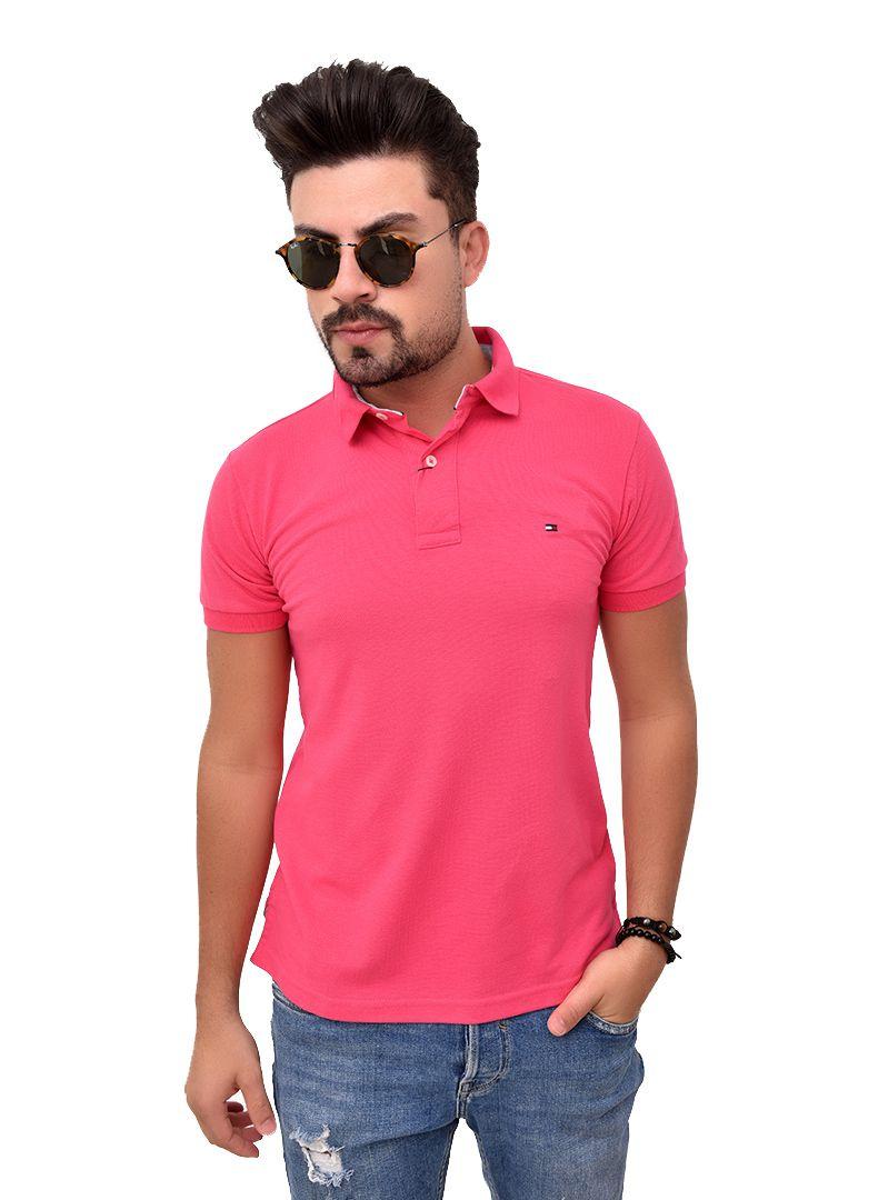 Polo Basic TH Pink  - Ca Brasileira