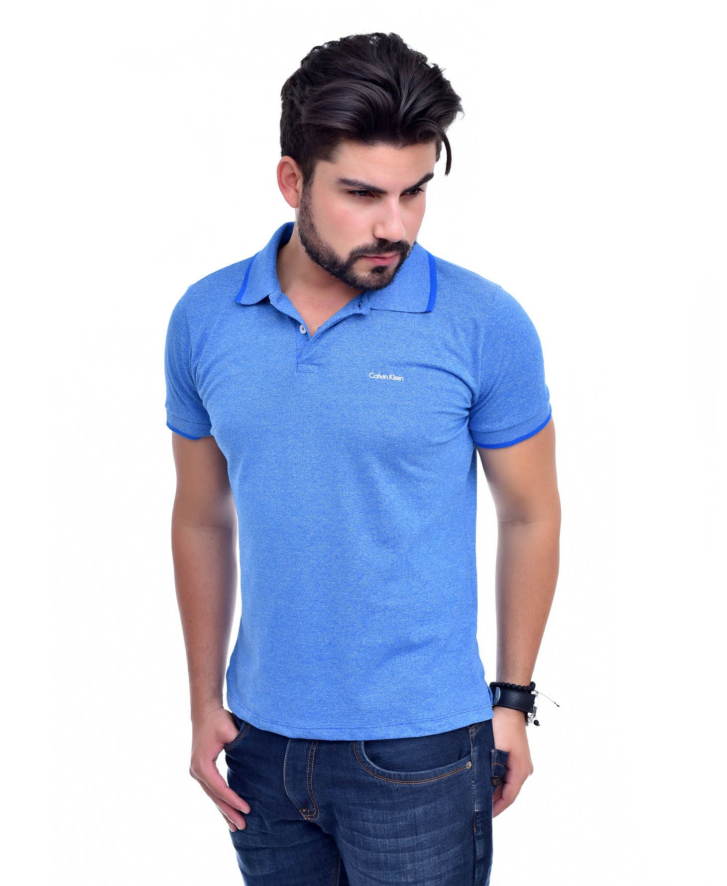Polo CKJ Royal - Ultra Slim Fit