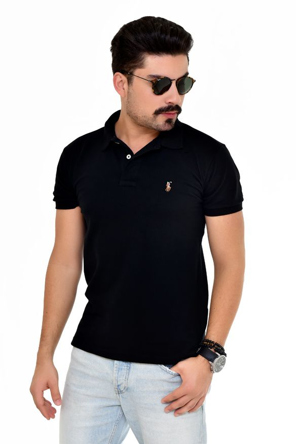 Polo RL Basic Colored Preto