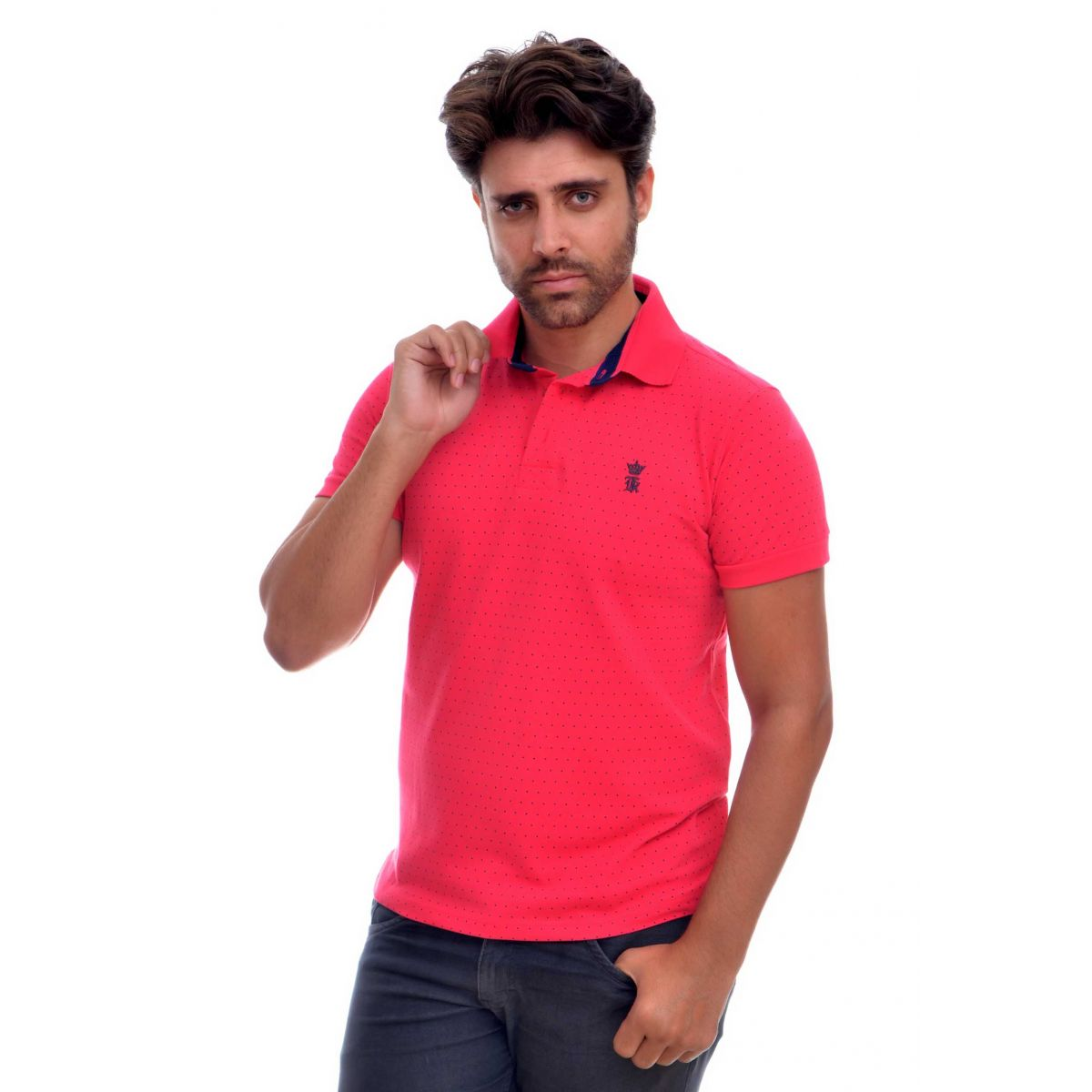 Polo SK Poá Pink
