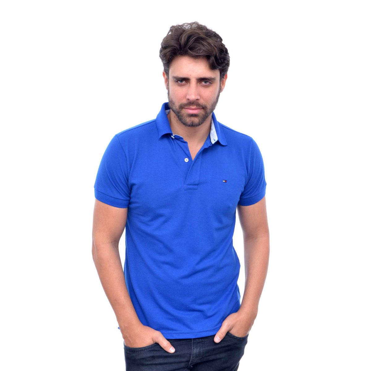 Polo Tommy Hilfiger Azul Royal