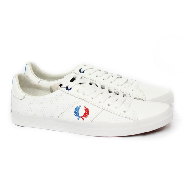 SAPATÊNIS FRED PERRY HOWELLS PIQUET BRANCO