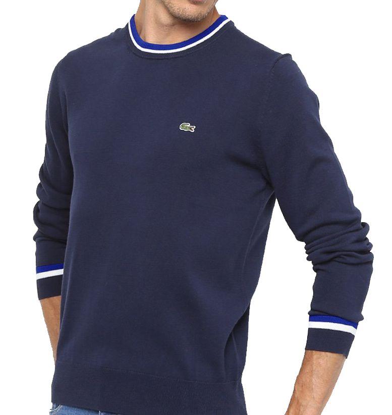 Suéter de Lã LC Marinho   - Ca Brasileira