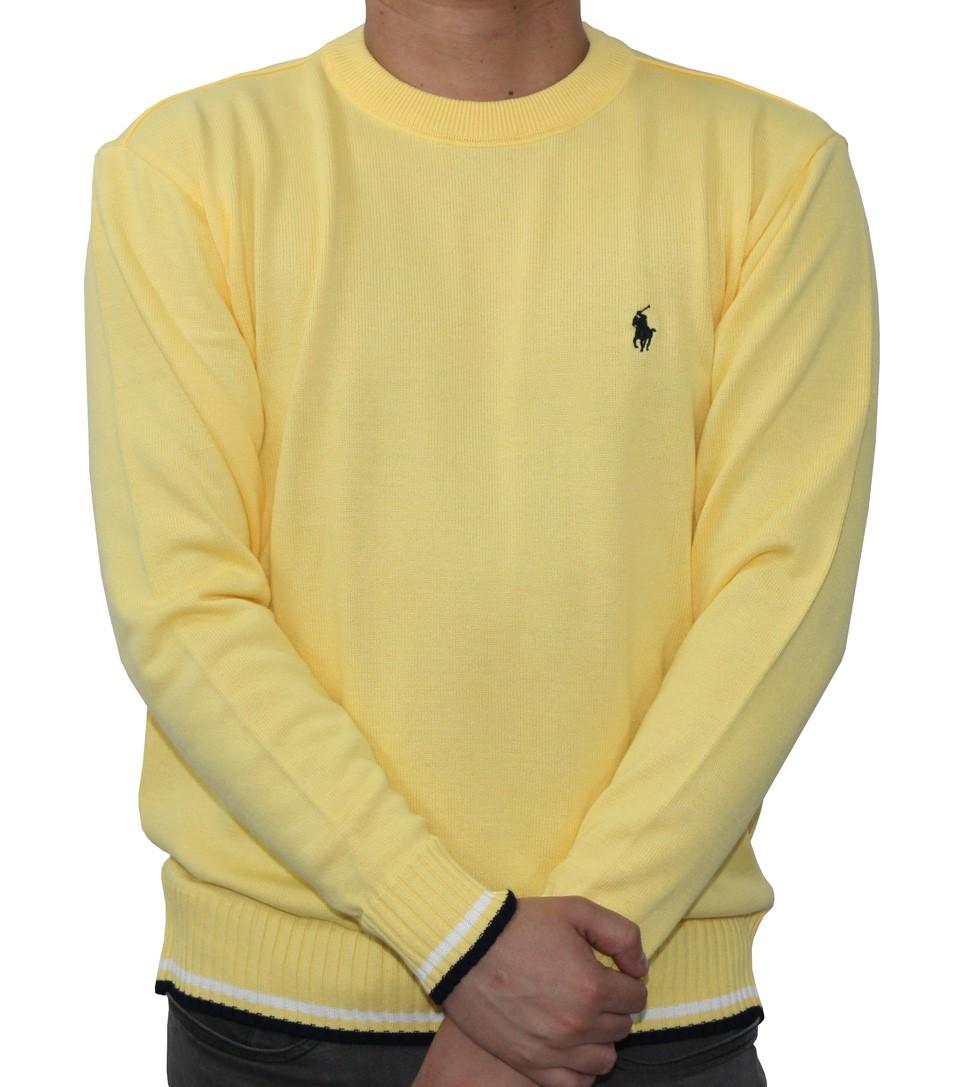 SUÉTER LÃ RL BASIC Amarelo
