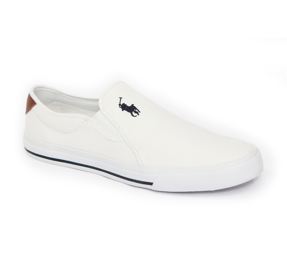 TÊNIS SLIP ON POLO RALPH LAUREN BRANCO