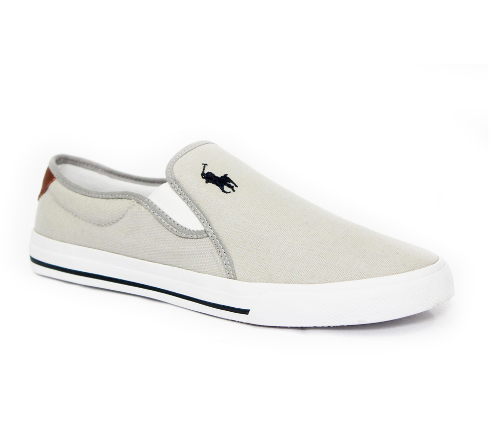 TÊNIS SLIP ON POLO RALPH LAUREN CINZA