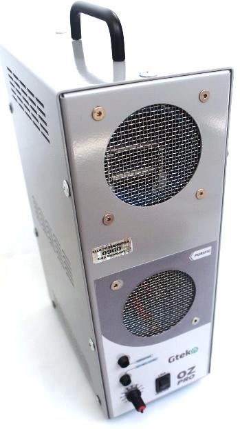 Gerador De Ozônio 30G/H Gtek Purific Clínicas e Consultórios  - GTEK