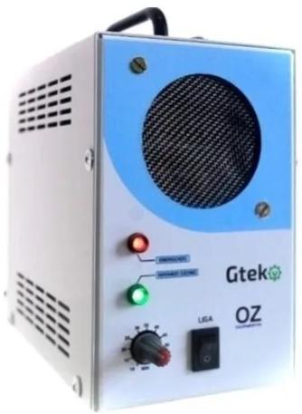 Gerador De Ozonio Gtek Ozonizador Automotivo Novo Modelo  - GTEK
