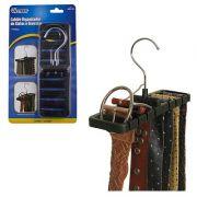 Cabide Organizador de Cintos e Gravatas