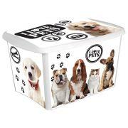 Caixa Organizadora Decora Pet - 18,7 litros