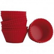 Forma para Cupcakes Hauskraft Vermelho