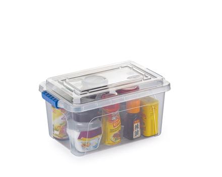 Caixa Organizadora Transparente - 4,3 Litros  - Eu Organizo