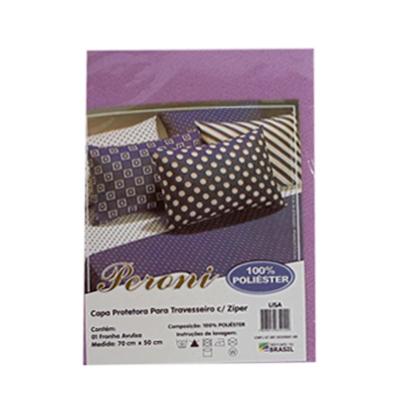 Capa para travesseiro - Com Zíper  - Eu Organizo