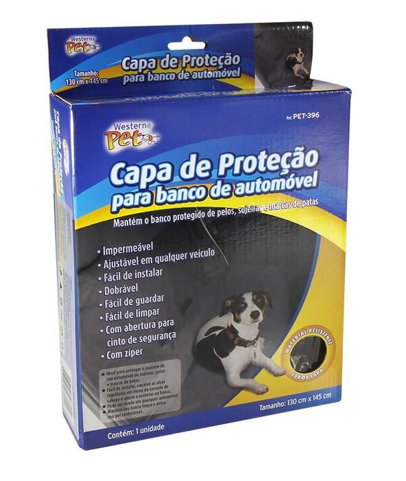 Capa protetora para carro - Cães e gatos  - Eu Organizo